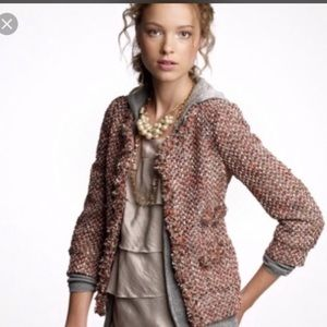 Like new J.crew collection tweed jacket